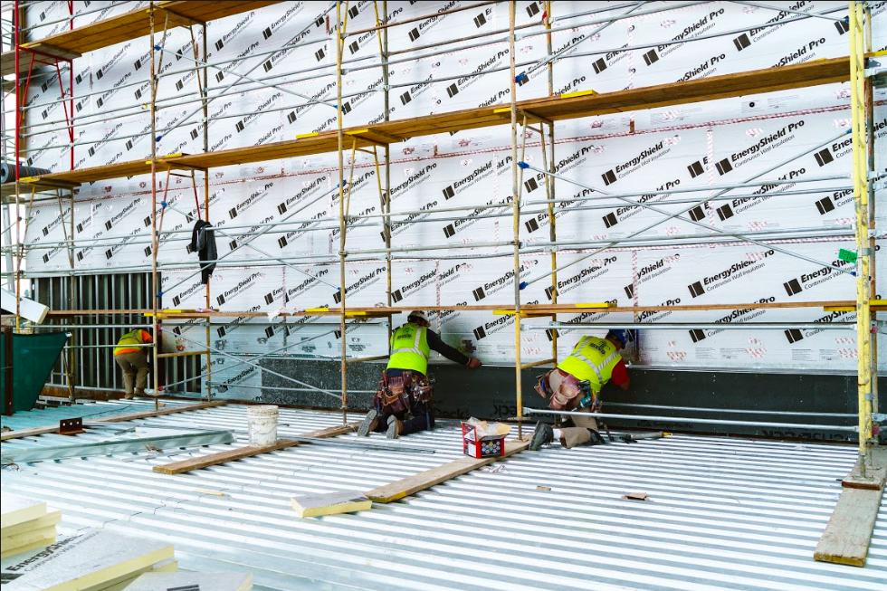 Atlas continuous insulation installation